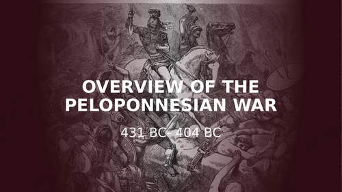 Overview of the Peloponnesian War