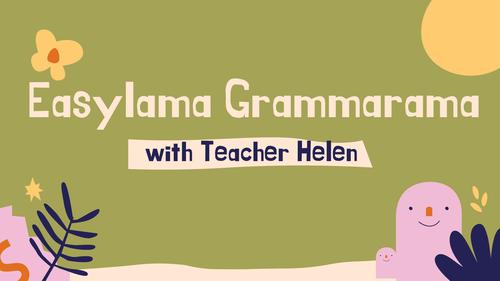 Easylama Grammarama-Comparison of adjectives