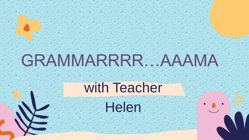 Grammarrr...aama-The Past Continuous Tense