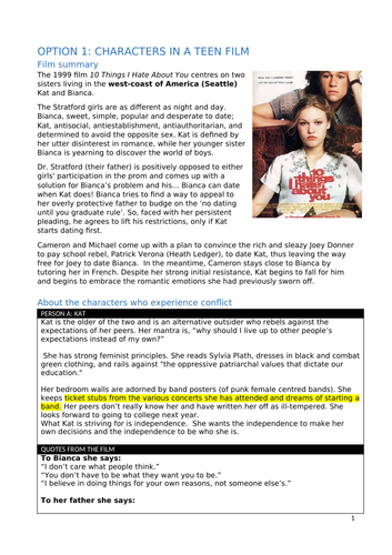 Social and Community Studies - Into Relationships -Inquiry Booklet and Conflict Scenarios