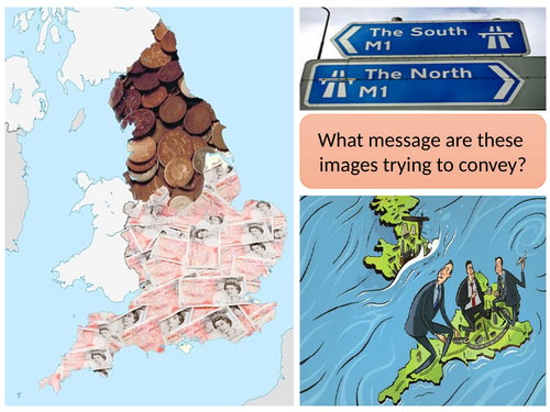 The UK's north south divide
