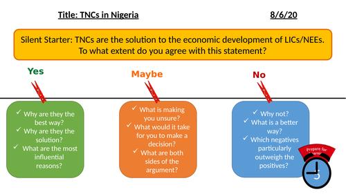 TNCs in Nigeria