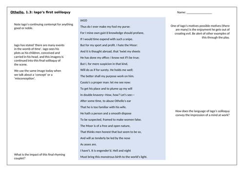 Othello - Act 1.3