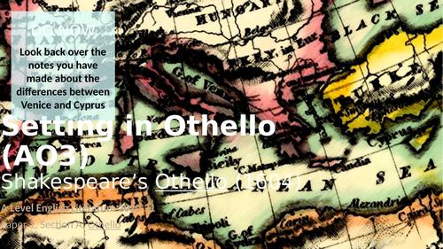 Othello - Setting