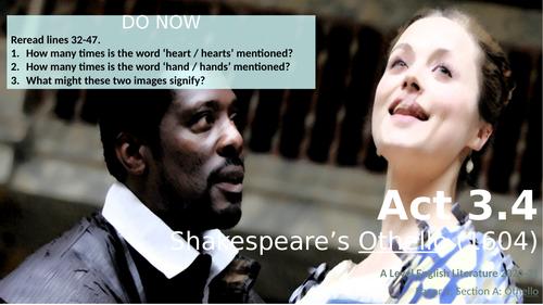 Othello - Act 3.4