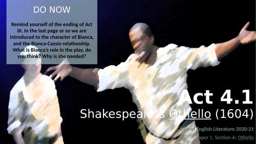 Othello - Act 4.1