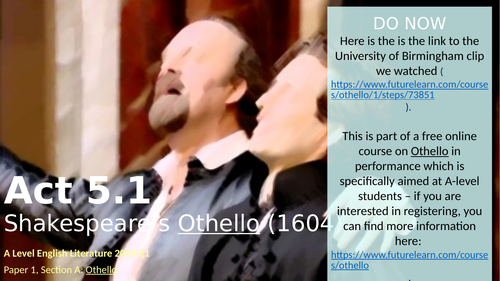 Othello - Act 5.1