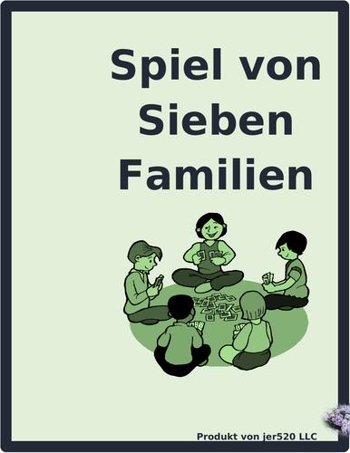 Länder (Countries in German) Spiel von Sieben Familien