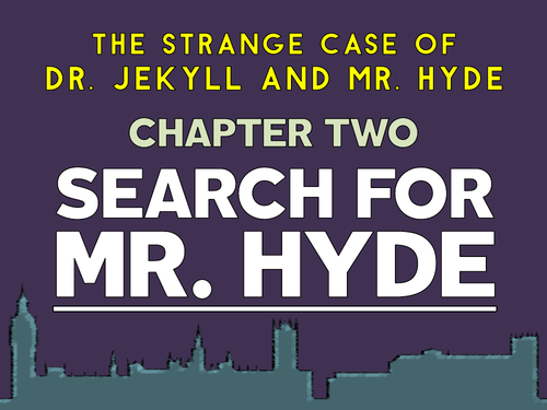 Jekyll and Hyde: Chapter 2