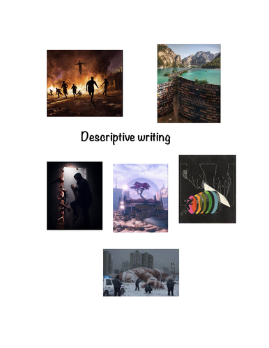 Creative writing key stage 2