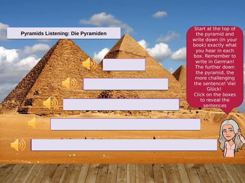 Listening pyramids - templates