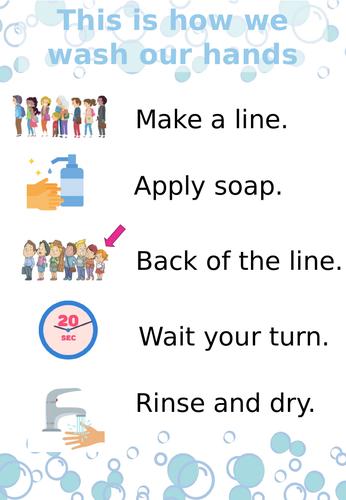Hand Washing Display