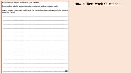 Yr13  Big Mark Buffer Calculations Q & A
