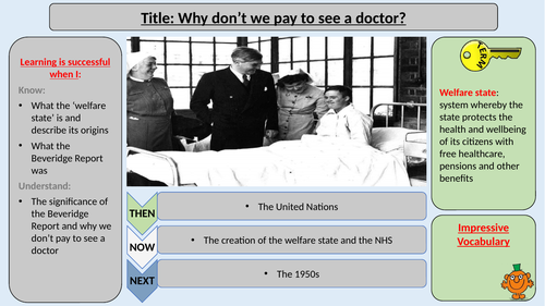 The Welfare State and the NHS