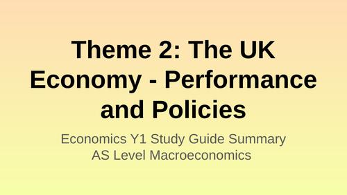 Edexcel Economics Theme 2 (Macroeconomics) - The UK Economy Revision Guide