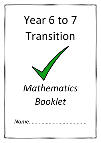 Year 6 to 7 Transition Booklet