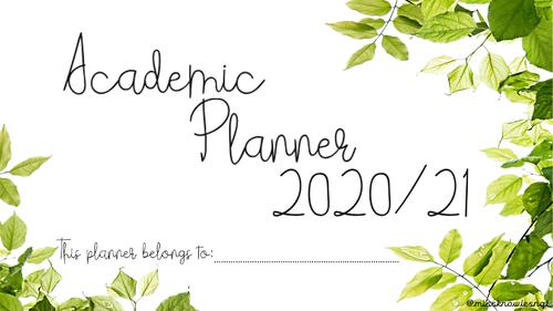 Academic Planner 2020/21