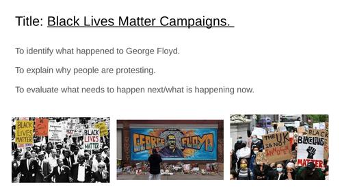 Black Lives Matter Lesson