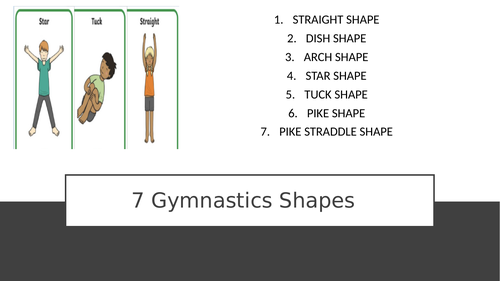 Gymnastic Shapes Primary