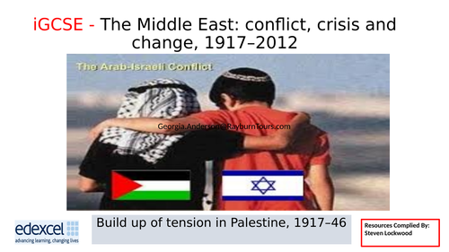 iGCSE History 2: The British Mandate 1919-46