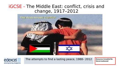 iGCSE History 19: Failure and Second Intifada 2000-05