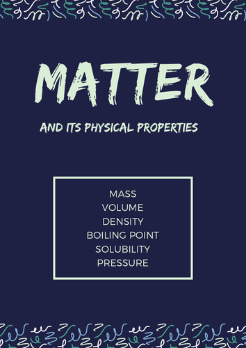 Matter and it's Properties