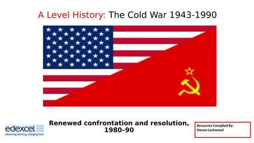 A-Level History 17: The Cold War - Reagan and Star Wars 1980s