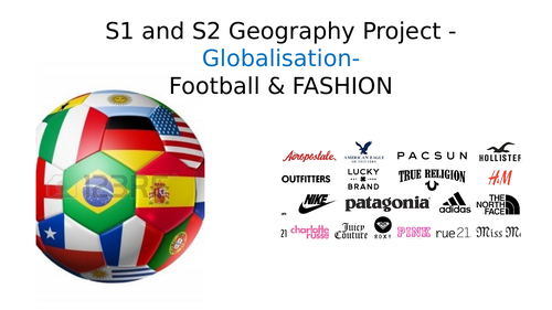 Globalisation - Football & Fashion