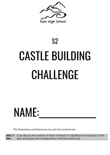 Medieval Castles Design Workbook