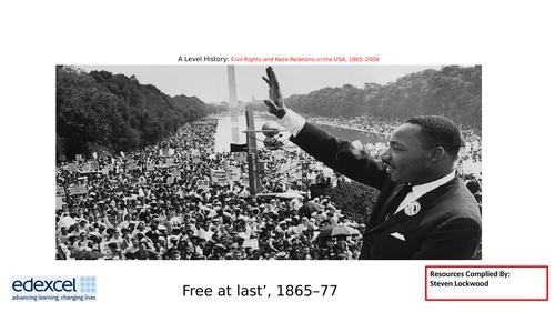 A Level History: Civil Rights 1 - Impact of Thirteenth Amendment 1865–77