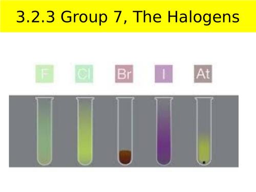 AQA A-level Chemistry Group 7