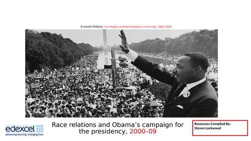 A-Level History: Civil Rights 17 - Barack Obama's Rise 2000-09