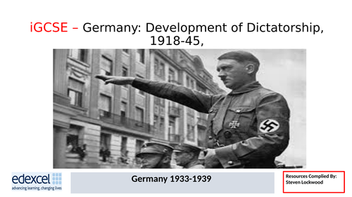 GCSE History: 16. Germany - The Church, Women and Racial Policies 1933-39