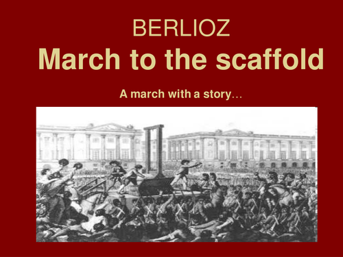 KS3 LESSON PLAN and RESOURCES on MARCHES