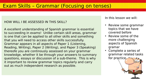 AS Grammar Skills Lesson