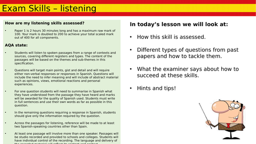 AS Listening Skills Lesson