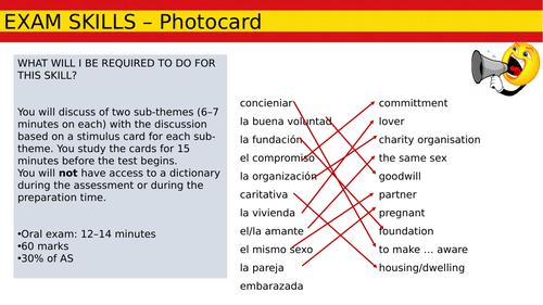 AS Photocard Skills Lesson