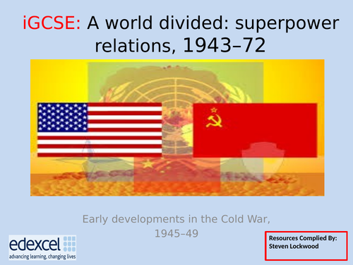 GCSE History: 8. Cold War - Berlin Crisis (1948–49), NATO and Two Germanys