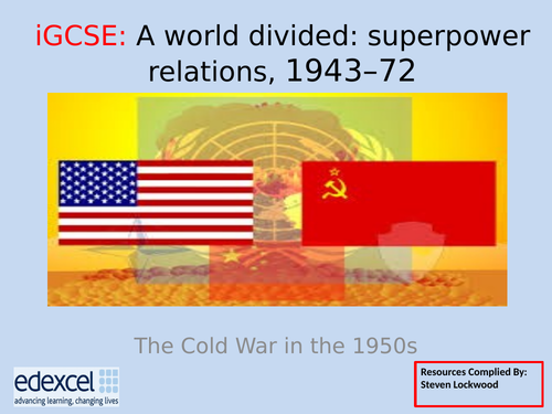GCSE History: 11. Cold War - Peaceful Coexistence and Warsaw Pact 1955
