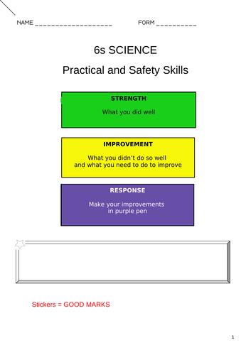 Practical skills booklet