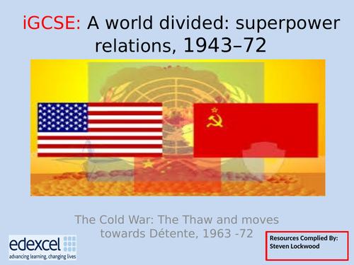GCSE History: 18. Cold War - Reasons for Détente
