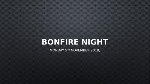 Bonfire Night Assembly