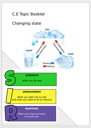 KS3 Changing state booklet