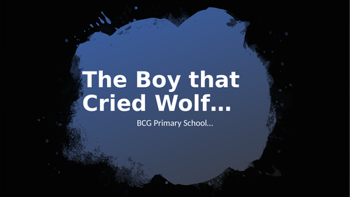 The Boy that Cried Wolf Story