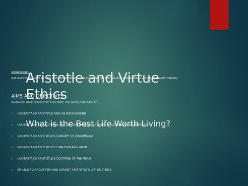Aristotle's Virtue Theory
