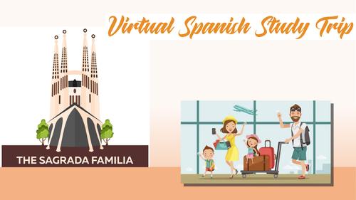 KS4 Spanish - Virtual Tour - La Sagrada Familia