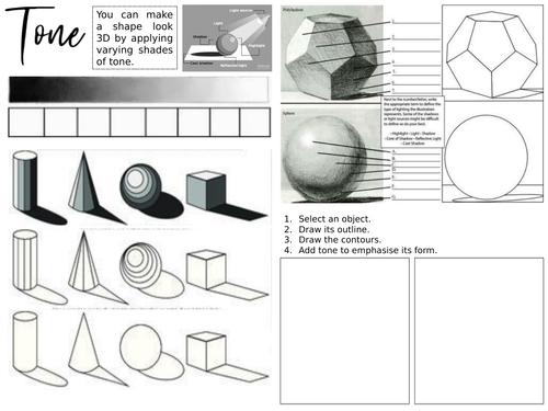 Tone & Texture Worksheets