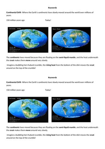 Continental Drift (KS3 Geography)