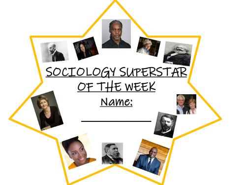 Sociology poster