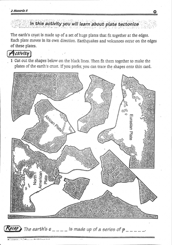 Distribution of Earthquakes and Volcanoes (KS3 Geography)